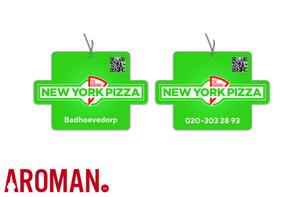 New York Pizza autogeurtje geurhanger luchtverfrisser